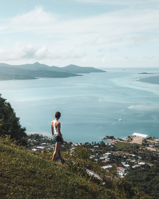 Hiking Mount Tapioi in Raiatea by Dancing the Earth