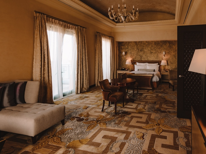 Atlantis the Palm suites king bedroom by Dancing the Earth