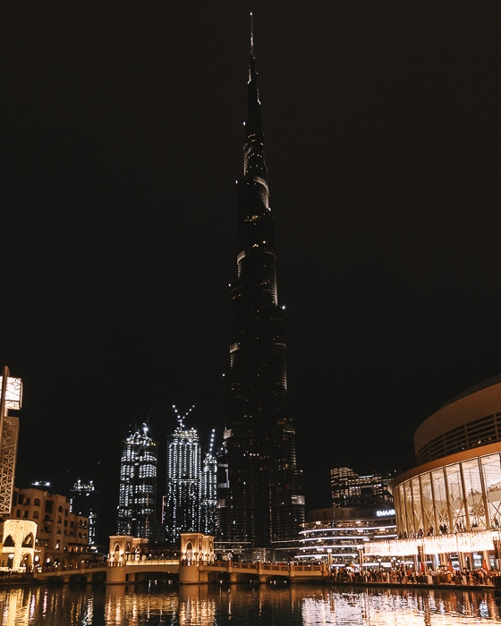 Dubai Burj Khalifa by Dancing the Earth