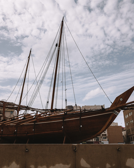 Dubai museum boat by Dancing the Earth