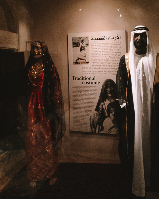 Dubai museum traditionnal costume by Dancing the Earth