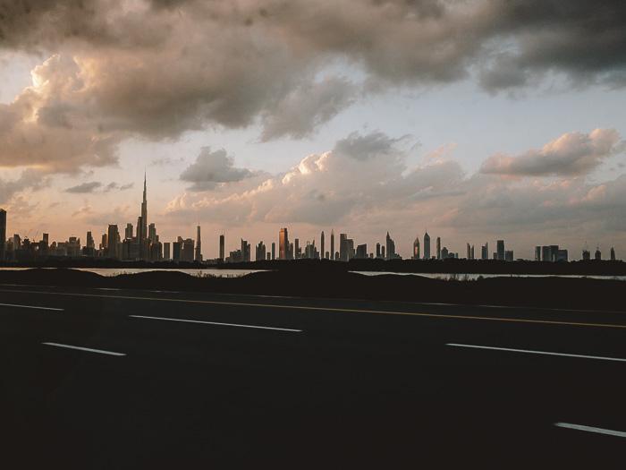 Dubai skyline by Dancing the Earth