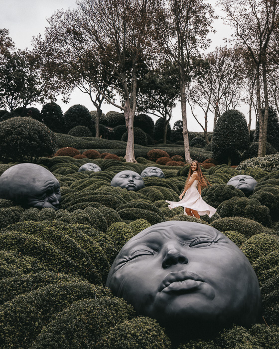 Etretat Gardens by Dancing the Earth