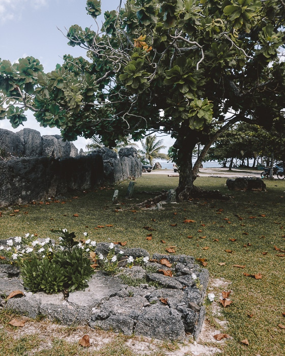 Marae Anini in Huahine by Dancing the Earth