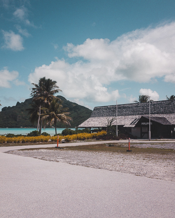 French Polynesia travel log Maupiti airport by Dancing the Earth