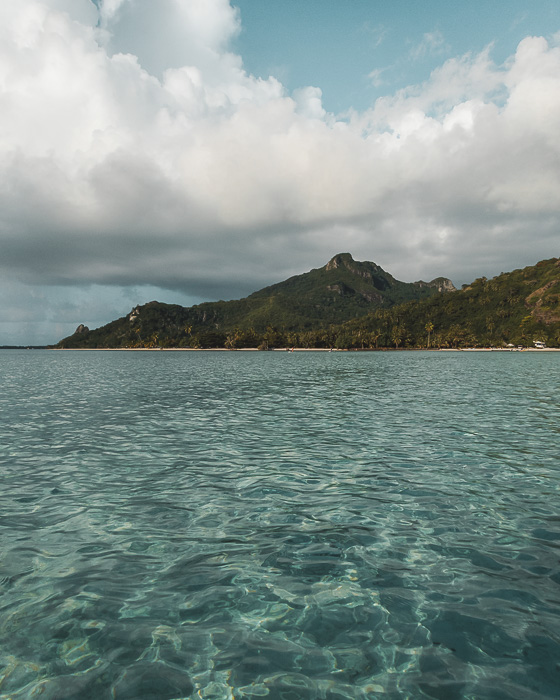 French Polynesia travel log Maupiti from motu Auira by Dancing the Earth