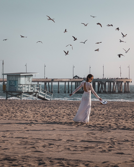 Los Angeles Venice Beach by Dancing the Earth