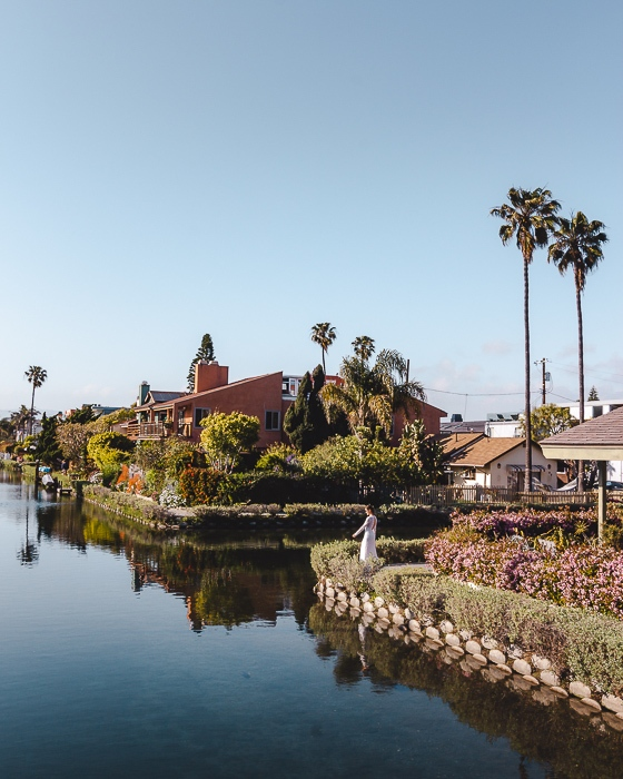 Venice Canals in Los Angeles by Dancing the Earth