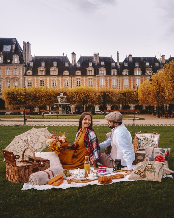 Love Picnic Paris by Dancing the Earth