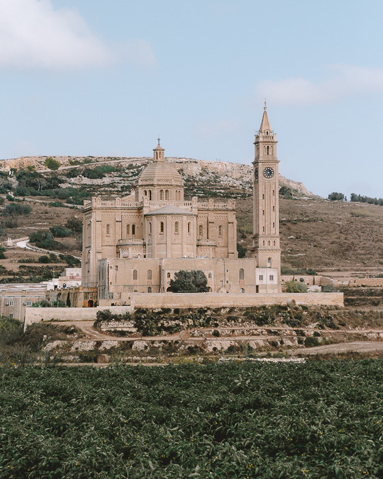 Ta Pinu Basilica by Dancing the Earth