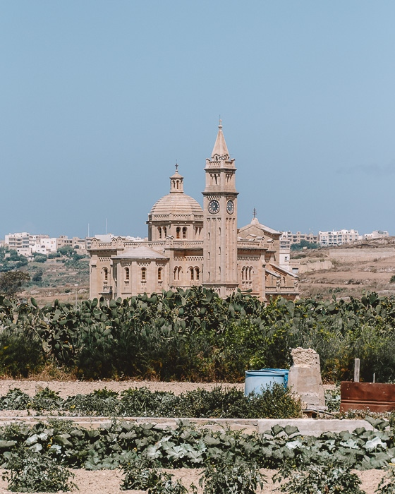 Malta travel guide Gozo island Basilica of Ta Pinu by Dancing the Earth