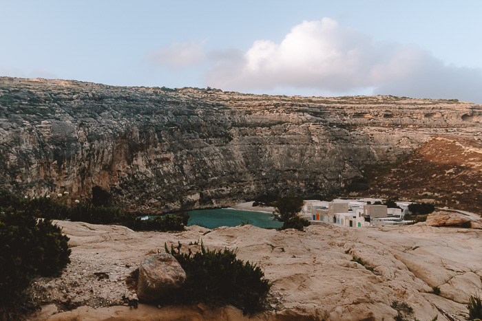 Malta travel guide Gozo island Inland sea by Dancing the Earth