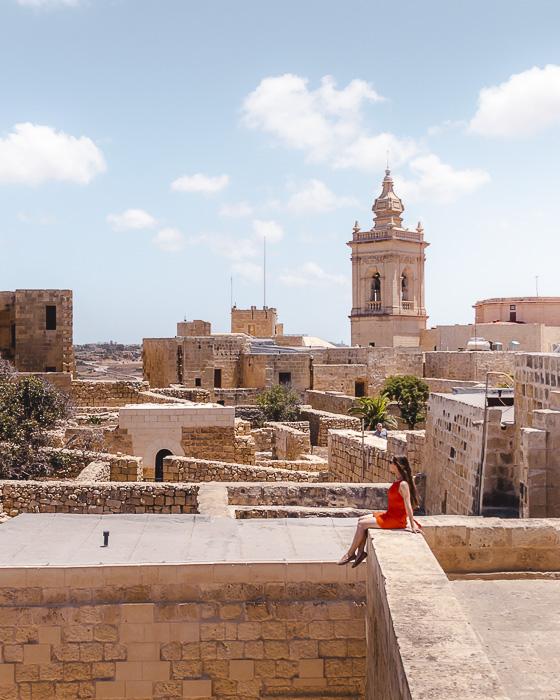Malta travel guide Gozo island Cittadella by Dancing the Earth