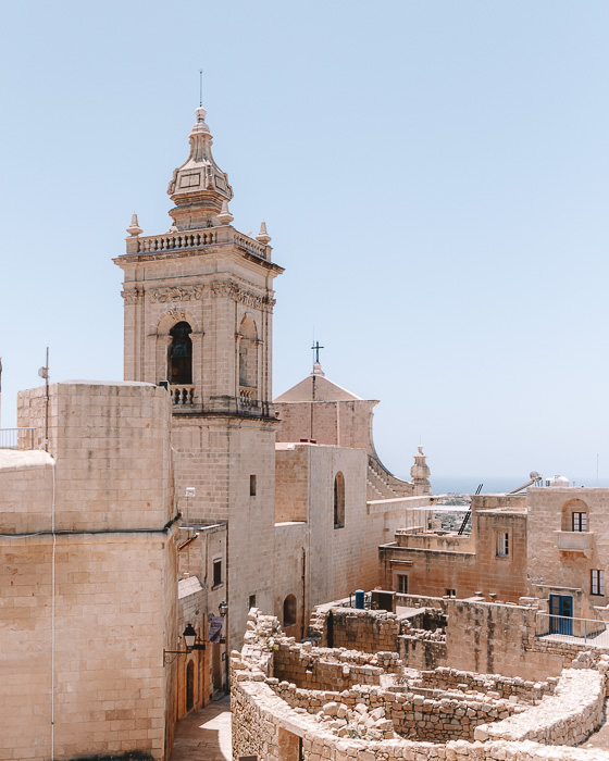 Malta travel guide Gozo island The Cittadella by Dancing the Earth