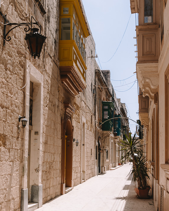 Malta travel guide Ir-Rabat street by Dancing the Earth