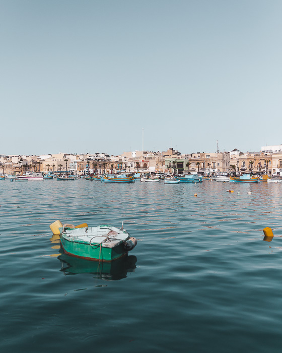 Malta travel guide Marsaxlokk by Dancing the Earth