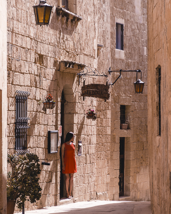 Mdina street by Dancing the Earth
