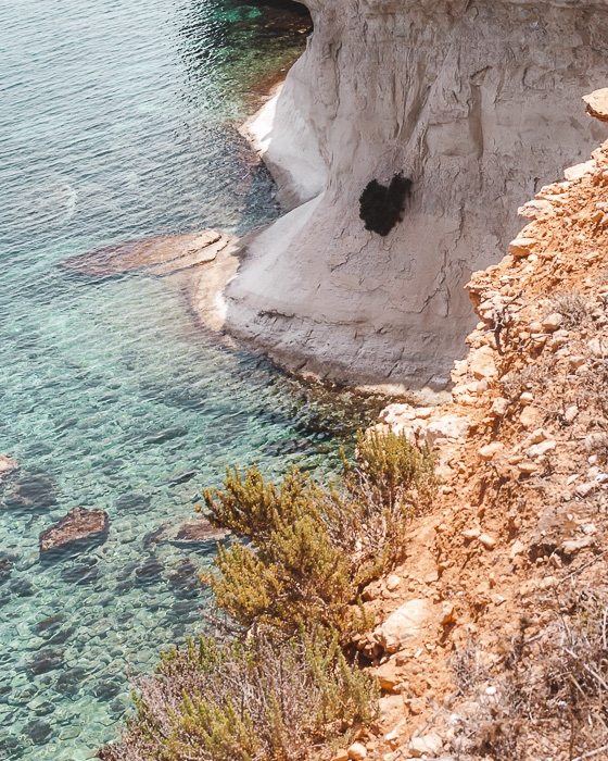 Malta travel guide St Thomas cliffs by Dancing the Earth