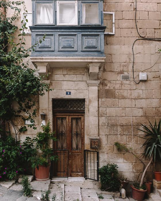 Valletta old door by Dancing the Earth