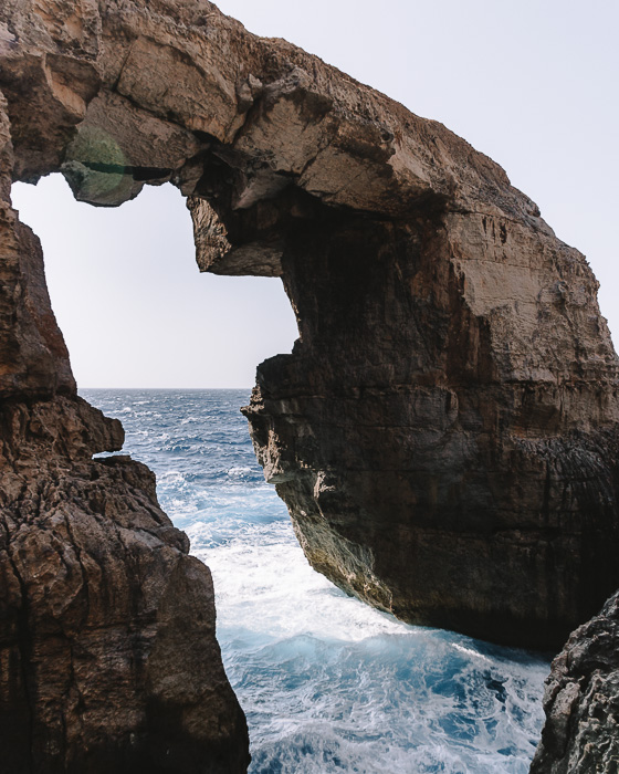 Malta travel guide Gozo island Wiel Il Mielah new azure window by Dancing the Earth
