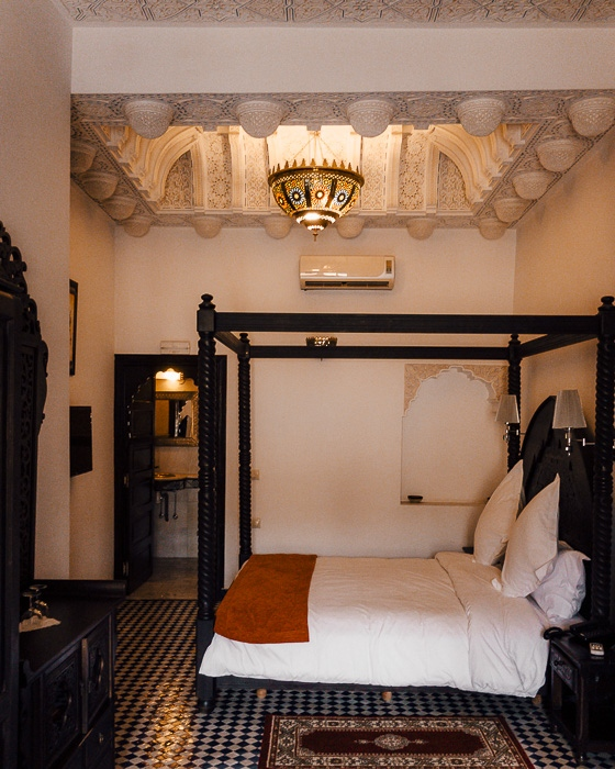 Riad Fes Bab Rcif room by Dancing the Earth