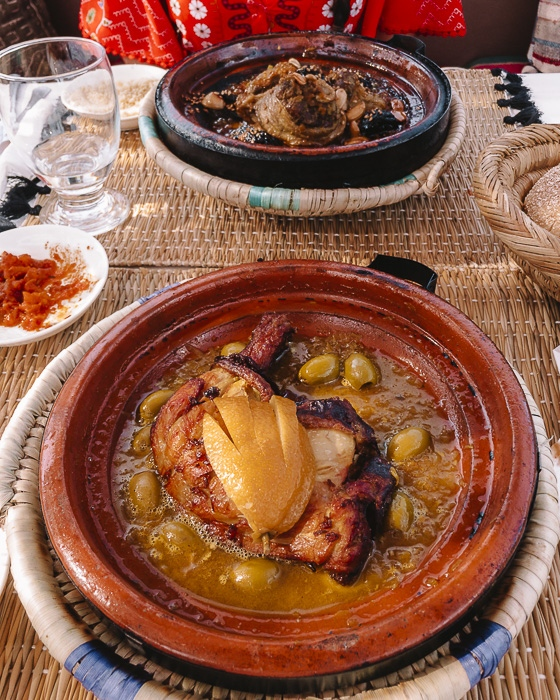 Morocco travel guide Atay Cafe Food tajine in Marrakesh by Dancing the Earth