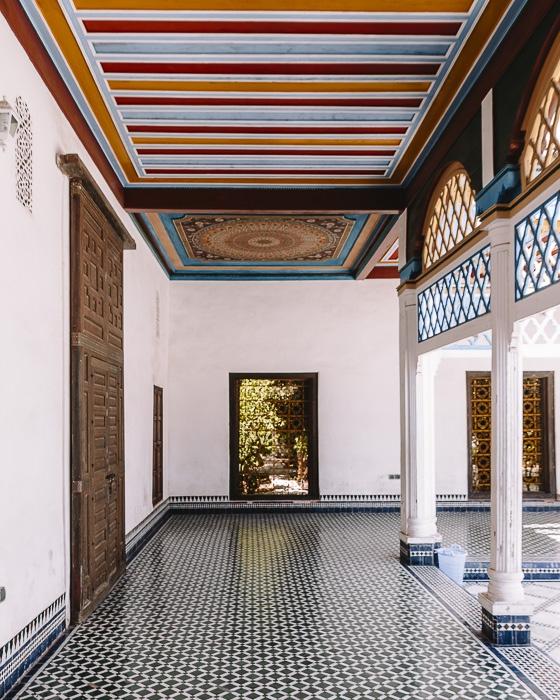 Bahia Palace corridor by Dancing the Earth