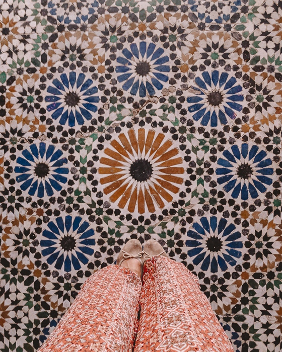 Bahia Palace tiles floor by Dancing the Earth