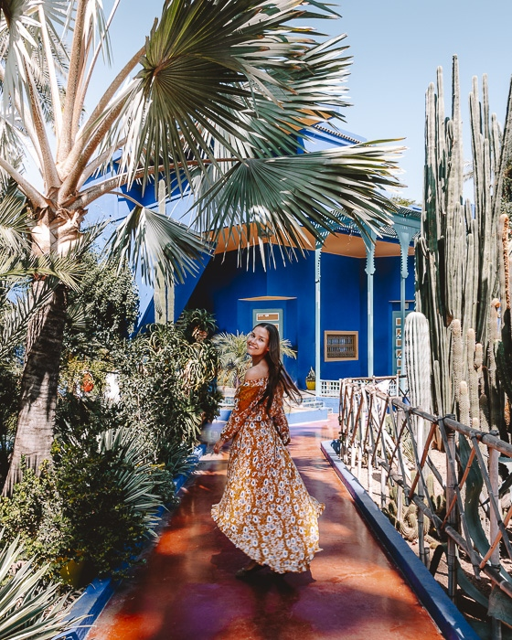 Morocco travel guide Marrakesh Jardin Majorelle by Dancing the Earth