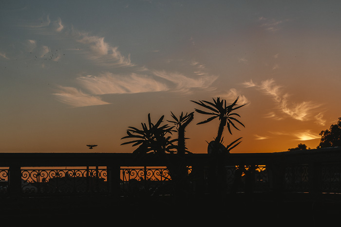 Sunrise from Ksar Kasbah riad in Marrakesh by Dancing the Earth