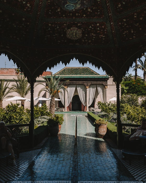 Morocco travel guide Marrakesh secret garden by Dancing the Earth