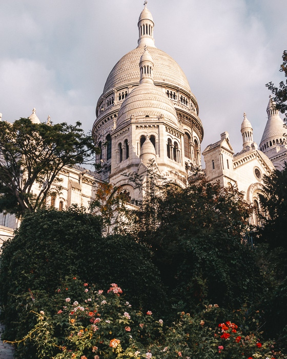 Paris in Summer Montmartre Sacre Coeur by Dancing the Earth