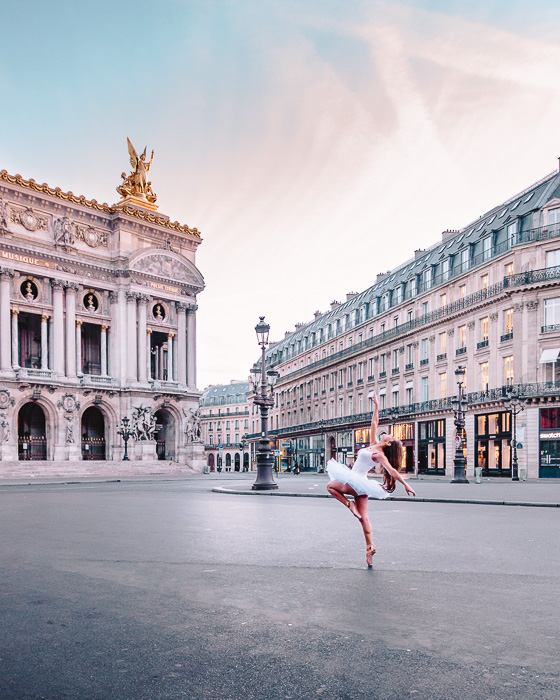 Summer in Paris Opera Garnier by Dancing the Earth