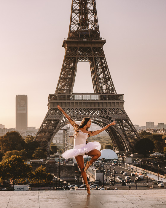 Summer in Paris Trocadero by Dancing the Earth
