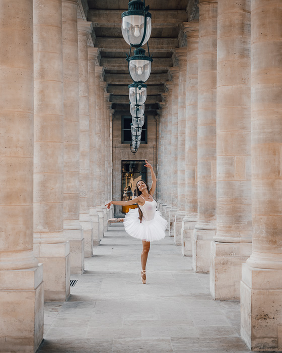 Palais Royal arcades by Dancing the Earth
