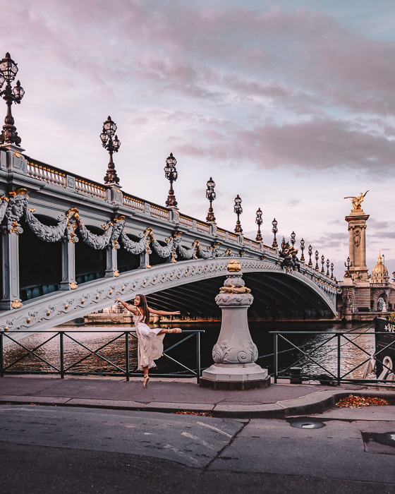 Pont Alexandre 3 from the quays by Dancing the Earth