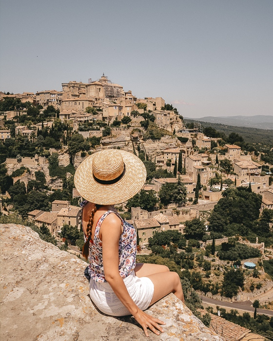 Gordes view by Dancing the Earth
