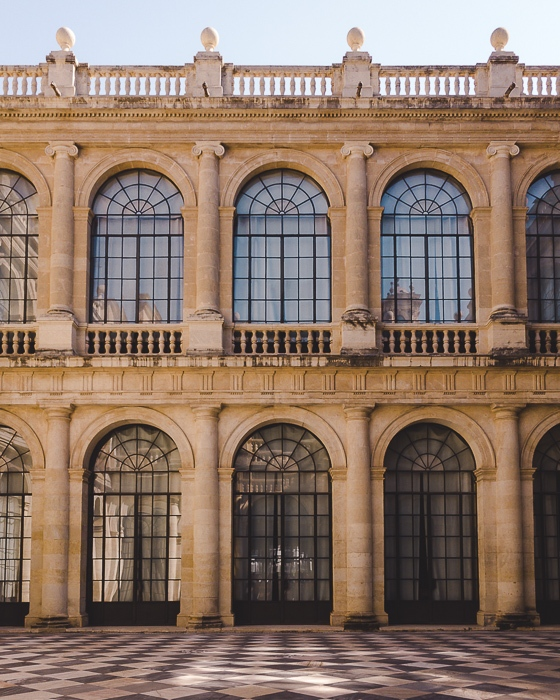 Seville Archivo de Indias inner courtyard by Dancing the Earth