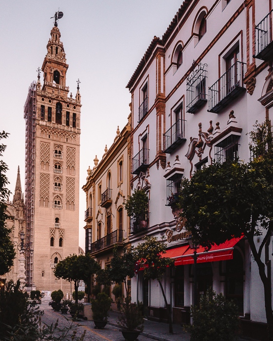La Giralda at sunrise by Dancing the Earth
