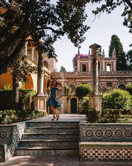 Seville Real Alcazar garden by Dancing the Earth