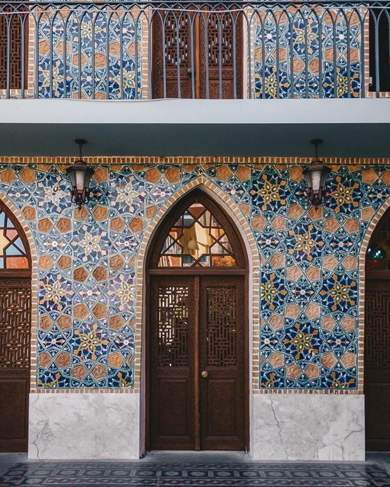 Orbeliani Baths main door by Dancing the Earth