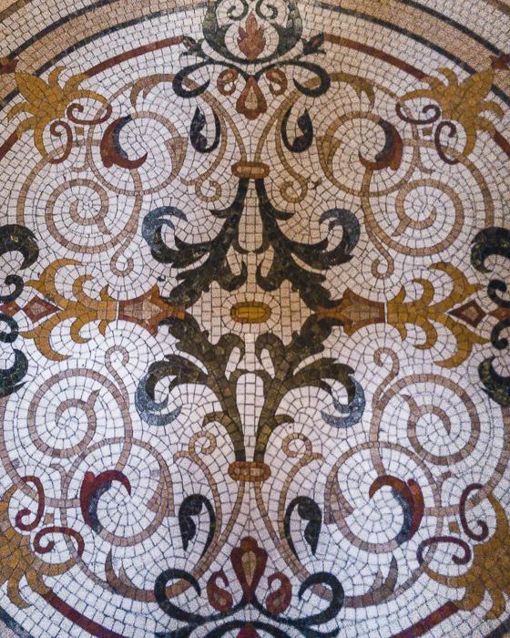 Orbeliani Baths tiles details by Dancing the Earth
