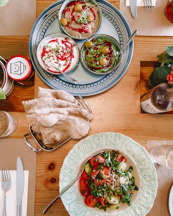 Tbilisi Culinarium Khasheria dishes by Dancing the Earth