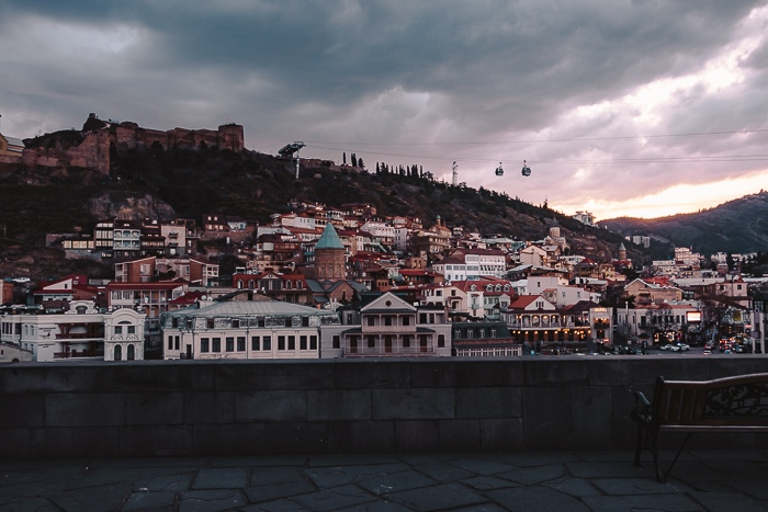 Tbilisi sunset by Dancing the Earth