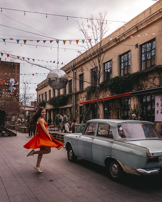 Tbilisi La Fabrika by Dancing the Earth