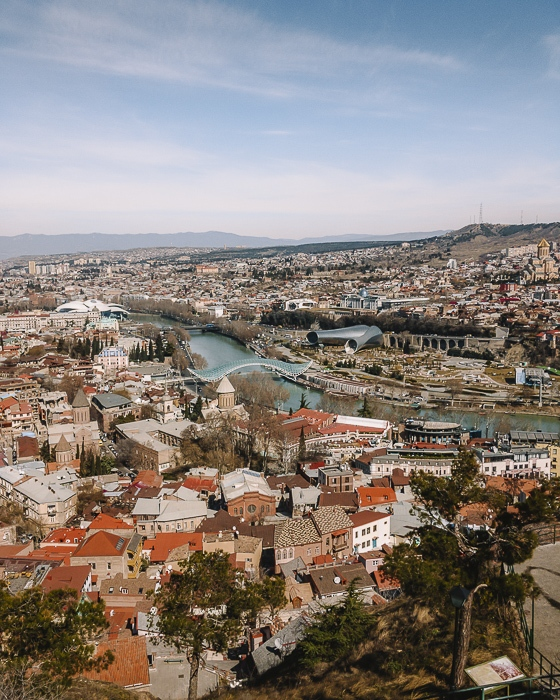 Tbilisi panorama from Narikala fortress by Dancing the Earth