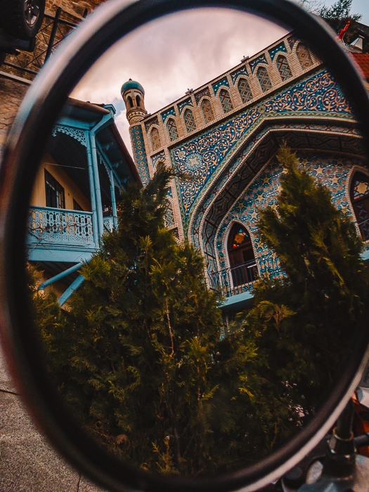Orbeliani Baths mirror by Dancing the Earth