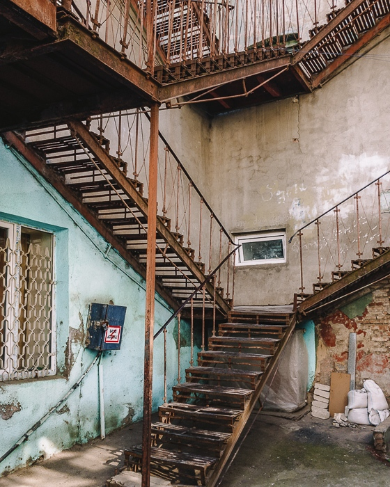 Tbilisi old town staircases by Dancing the Earth