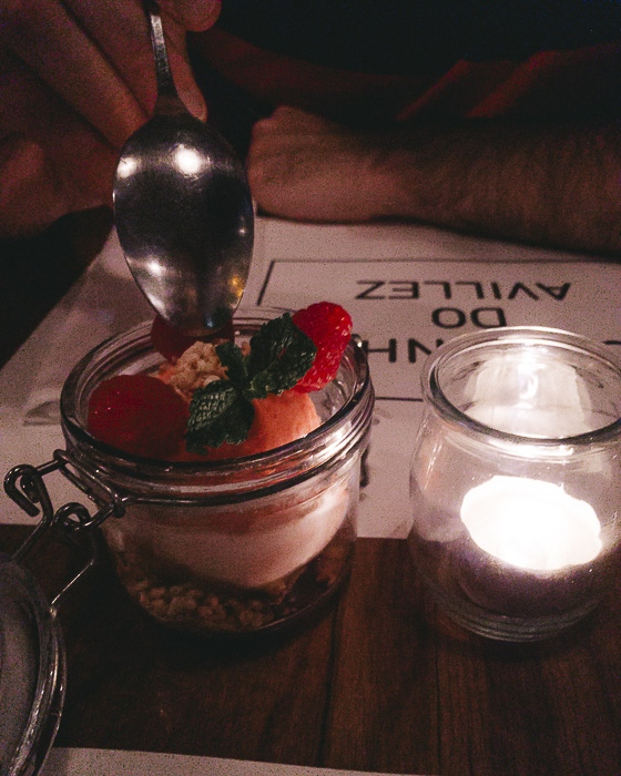 Dessert at Cantinho de Avillez by Dancing the Earth