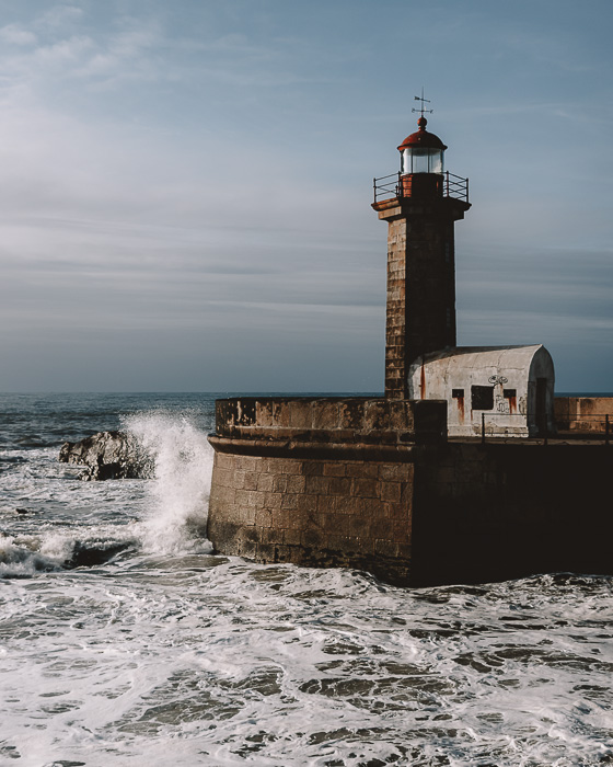 Porto weekend itinerary Foz de Douro lighthouse by Dancing the Earth